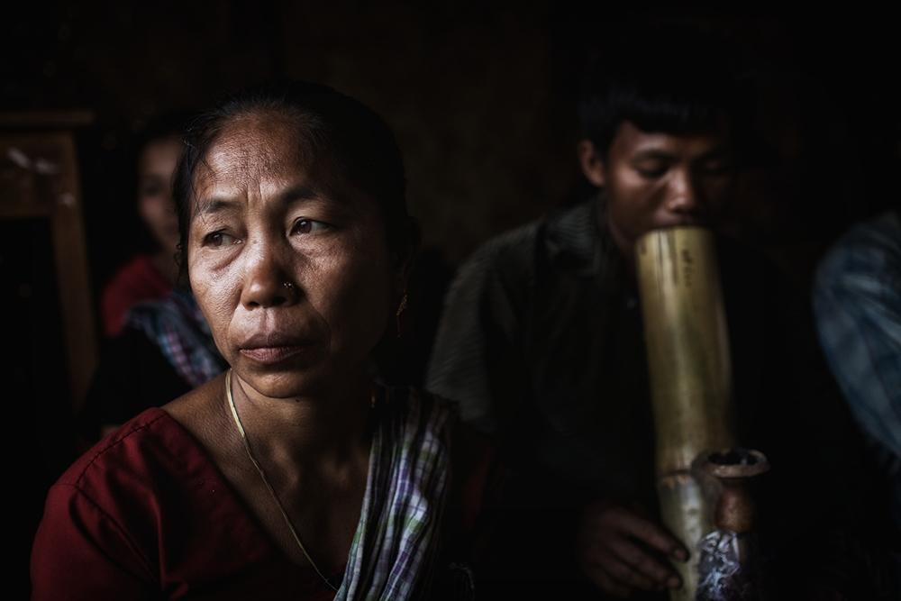 A Chakma lady in Khagrachhori