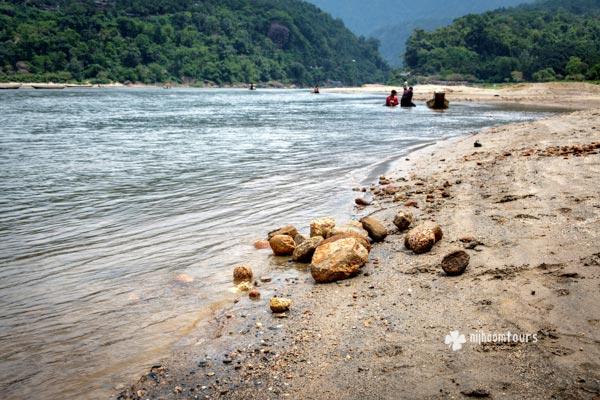 Piain river in Jaflong