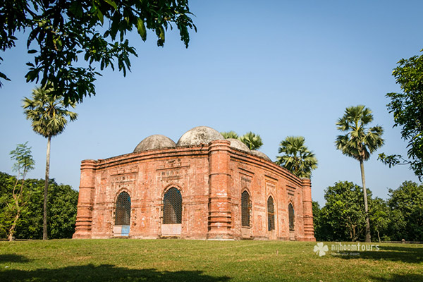 Dhunichak Mosque at Gaur - number eight on our list of the best historical mosques in Bangladesh