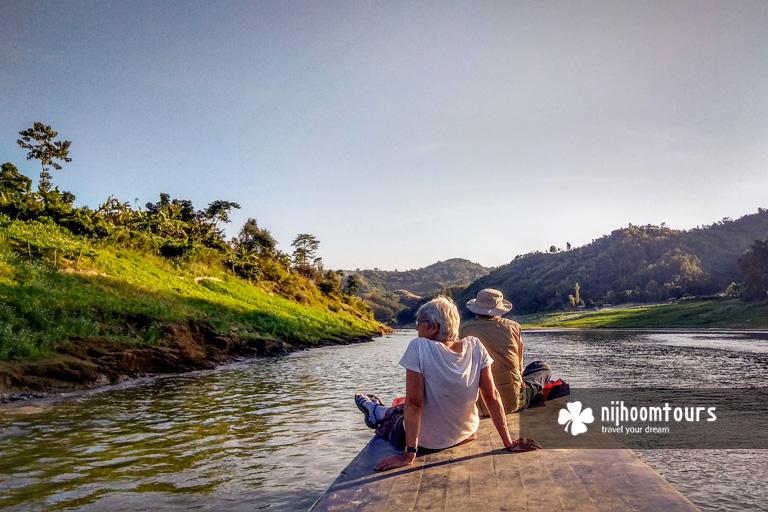 Boat ride at Sangu river in Bangladesh with Nijhoom Tours