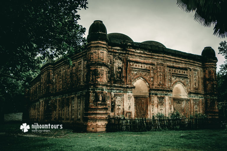 Bagha Mosque at Rajshahi. Number seven on our list of the best archaeological sites in Bangladesh.