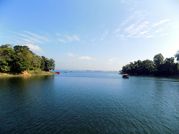 Beautiful Kaptai Lake at Rangamati in Bangladesh - Number four among the best places to visit in Bangladesh.