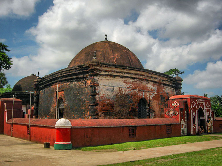 The shrine of Khan Jahan Ali, the founder of Bagerhat.