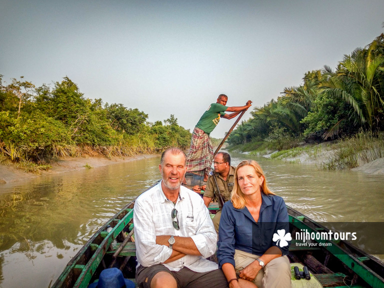 At the Sundarbans Mangrove Forest in Bangladesh