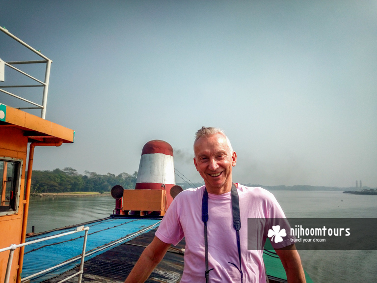 Traveling on a Rocket Paddle Steamer in Bangladesh