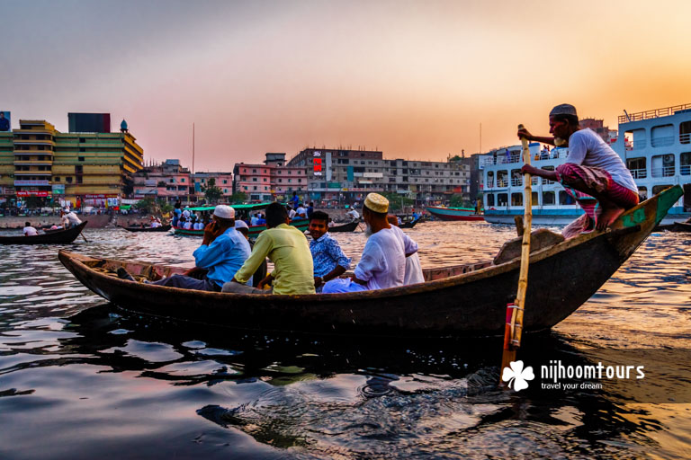 A photo of Sadarghat River Port in Old Dhaka