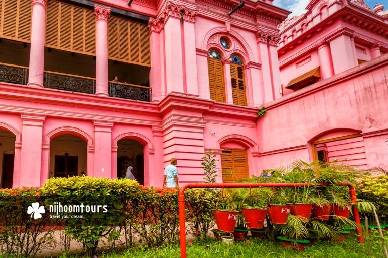 Photo of the Ondor Mahal (Residential House) of Ahsan Manzil