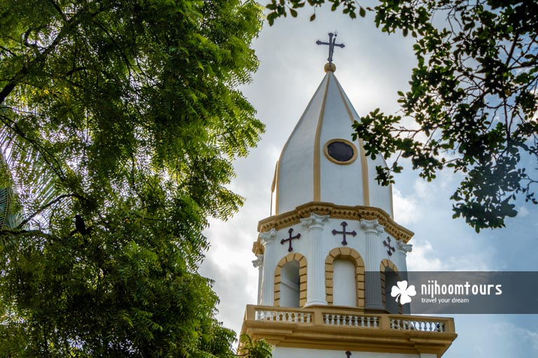Photo of the dome of the Armenian Church in Old Dhaka