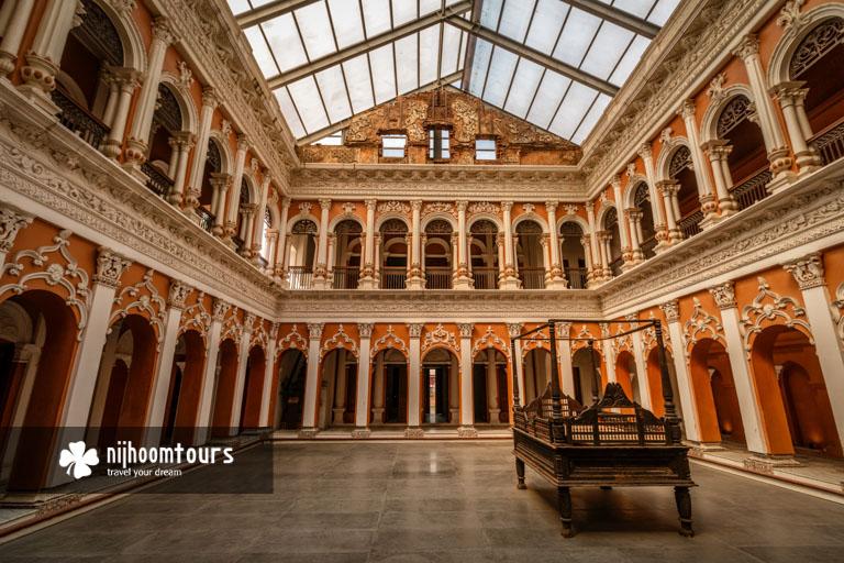 Interior of the newly renovated Boro Sardar Bari