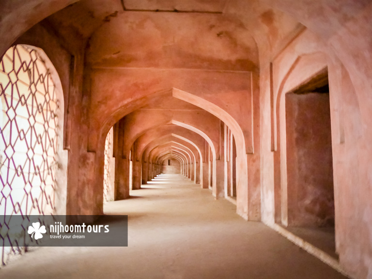 The underground passage of Khan Mohammad Mridha Mosque