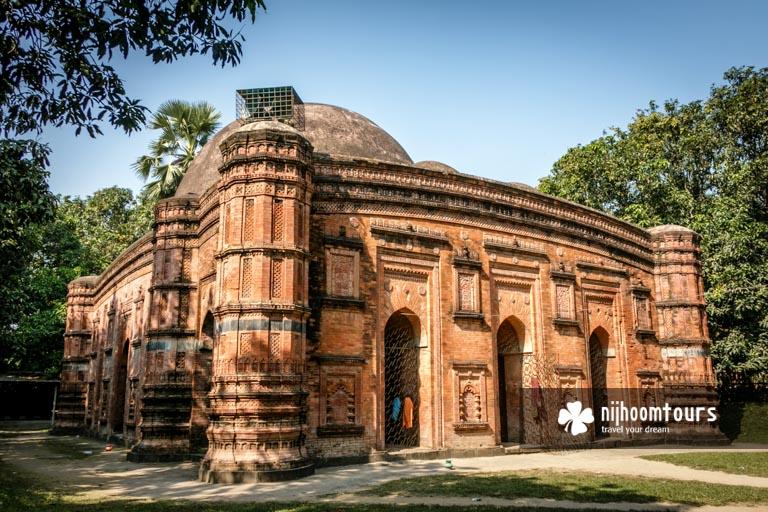 Khania Dighi or Rajbibi Mosque in Gaur (Gauda / Gour)