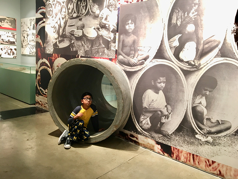 Liberation War Museum in Dhaka - a must to visit for the tourists to know history