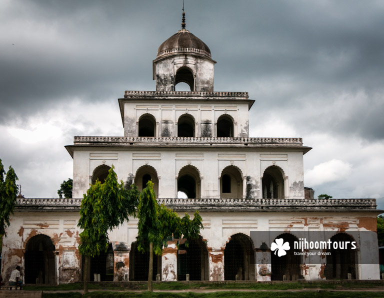 A photo of The Dol Temple in Puthia Temple Complex