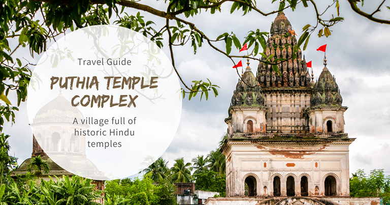Puthia Temple Complex: A village full of historic Hindu temples in Bangladesh