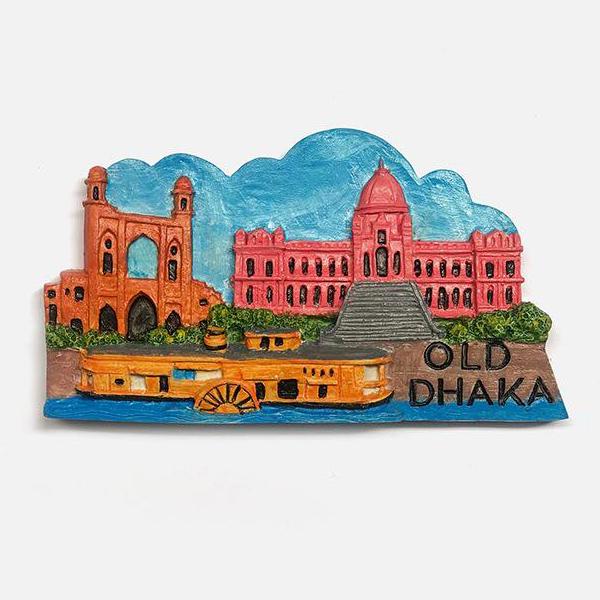 Souvenir from Bangladesh: Old Dhaka Fridge Magnet