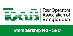 Tour Operators Association of Bangladesh Membership No: 580