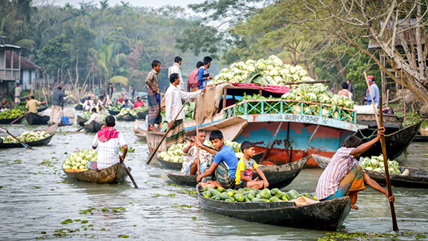 Backwater and Bagerhat Tour in Bangladesh