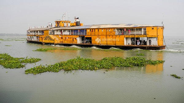 Rocket Steamer Tour in Bangladesh